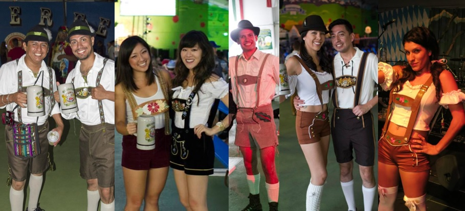 Lederhosen oktoberfest costume here are some oktoberfest threads guests have recently donned solutioingenieria Images