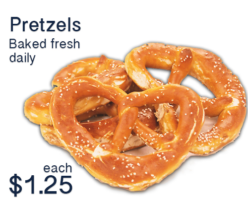 pretzels make a great Oktoberfest Food for your party