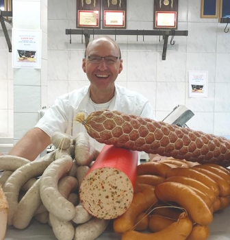 Oktoberfest Crew: Alex Lagger and Handcrafted Sausages