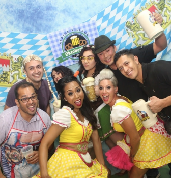 Oktoberfest Photo Booth Pics Saturday 10/17