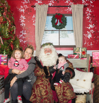 Photos with Santa Sunday 12/06/2015